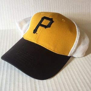 BWM Global Pittsburgh Pirates Black White Gold hat